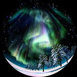 同梱動画プログラム 「地球の夜空」