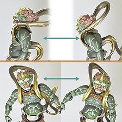 腹部のボールジョイントにより様々な動きが可能!