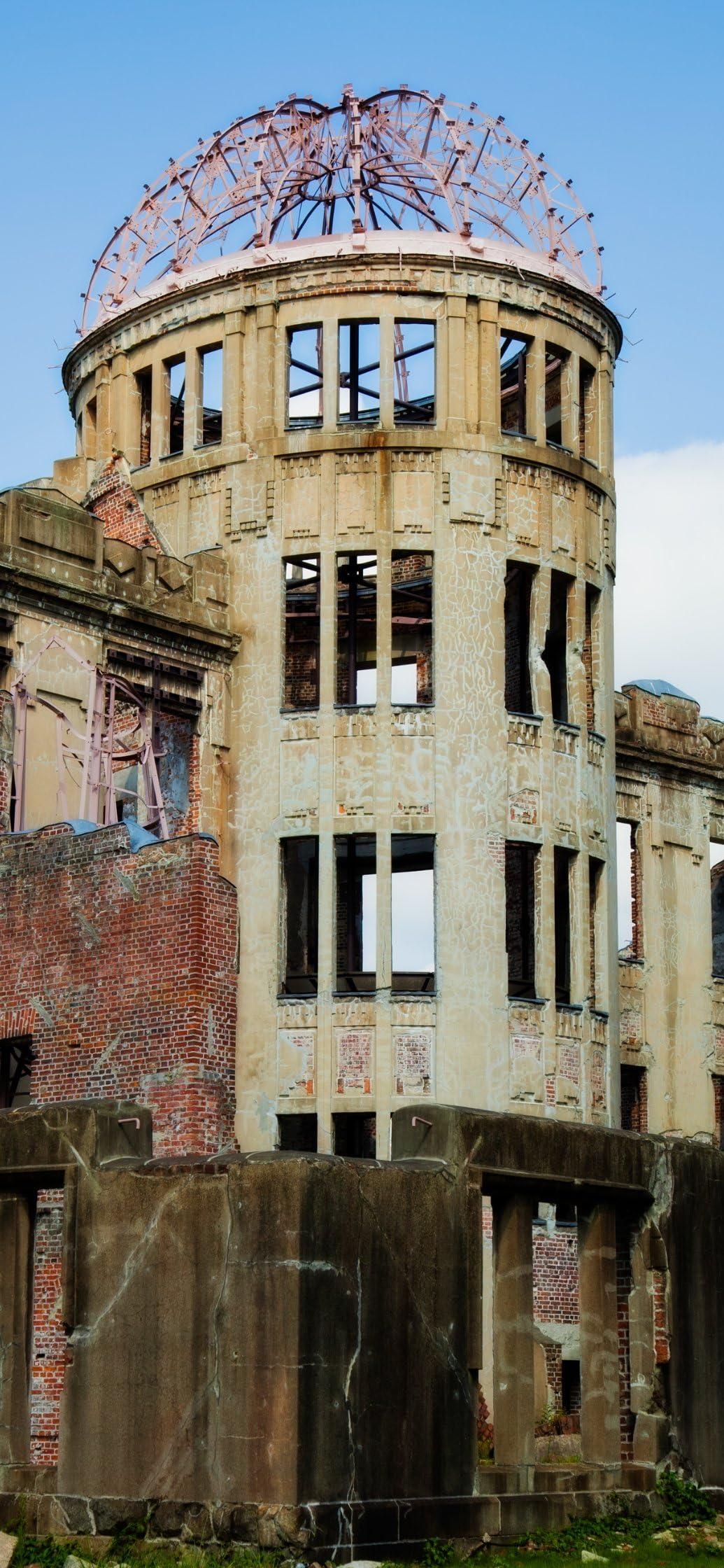 世界遺産 広島平和記念碑(ひろしまへいわきねんひ) iPhone 11,Pro Max,XR,XS Max 壁紙画像