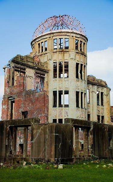 世界遺産  iPhone/Androidスマホ壁紙(740×1196)-1 - 原爆ドーム 広島平和記念碑