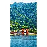 世界遺産 iPhone8,7,6 Plus 壁紙 拡大(1125×2001) 厳島神社