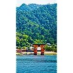 世界遺産 iPhone8,7,6 Plus 壁紙(1242×2208) 厳島神社