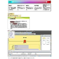 充実のセキュリティ機能で文書を管理、配布