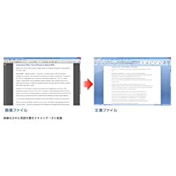 日英二カ国語対応で英語文書も高精度で変換可能