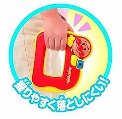 握りやすいから手で持っても落としにくく安心!