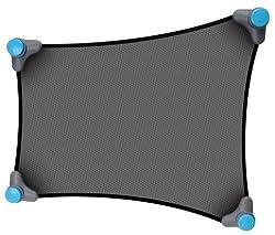 窓の形状に合わせて、使えるサンシェイド