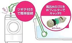 お風呂の残り水を洗濯機に