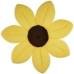 お花が咲いたようなカラフル沐浴マット