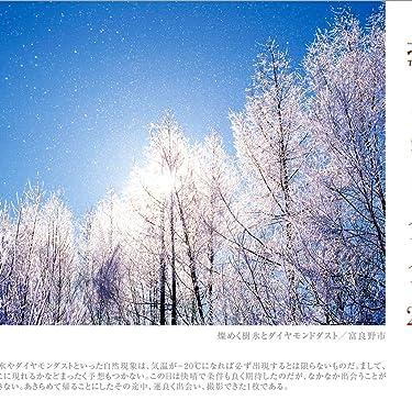北海道 iPad壁紙 or ランドスケープ用スマホ壁紙(1:1)-1 - 燦めく樹氷とダイヤモンドダスト