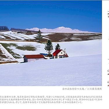 北海道 iPad壁紙 or ランドスケープ用スマホ壁紙(1:1)-1 - 春の訪れを待つ大地