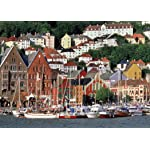 世界遺産 freeサイズ画像 ベルゲン旧市街の倉庫群