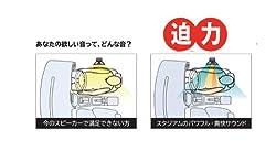 ワイドレンジ再生 マルチアキシャル3WAYスピーカー