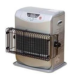 ファンヒーターの温風でも熱くなりにくい設計