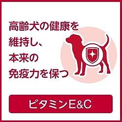 高齢犬の健康を維持し、本来の免疫力を保つ