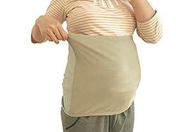 妊娠初期から後期まで使用できるフリーサイズ