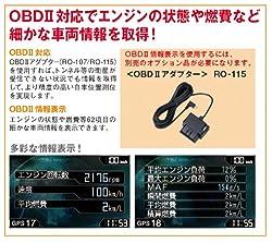 OBDⅡ情報表示対応