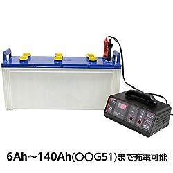 バッテリー診断+4つの充電機能付き