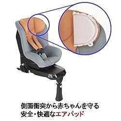 側面衝突から赤ちゃんを守る安全・快適なエアパッド