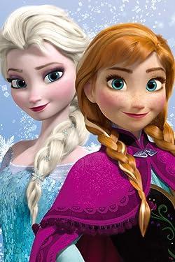 ディズニーの人気壁紙画像 『レット・イット・ゴー~ありのままで~』エルサ,アナ