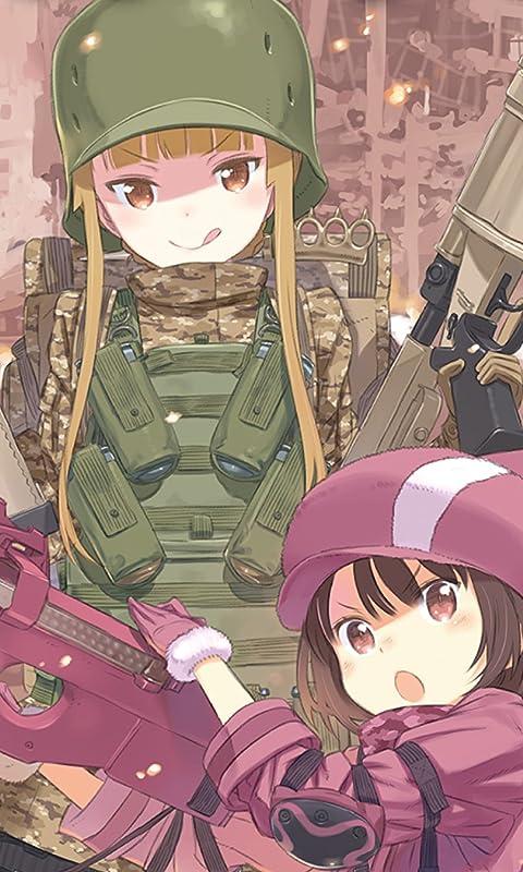 ソードアートオンライン 「ガンゲイル・オンライン」レン,フカ次郎 FVGA(480×800)壁紙画像