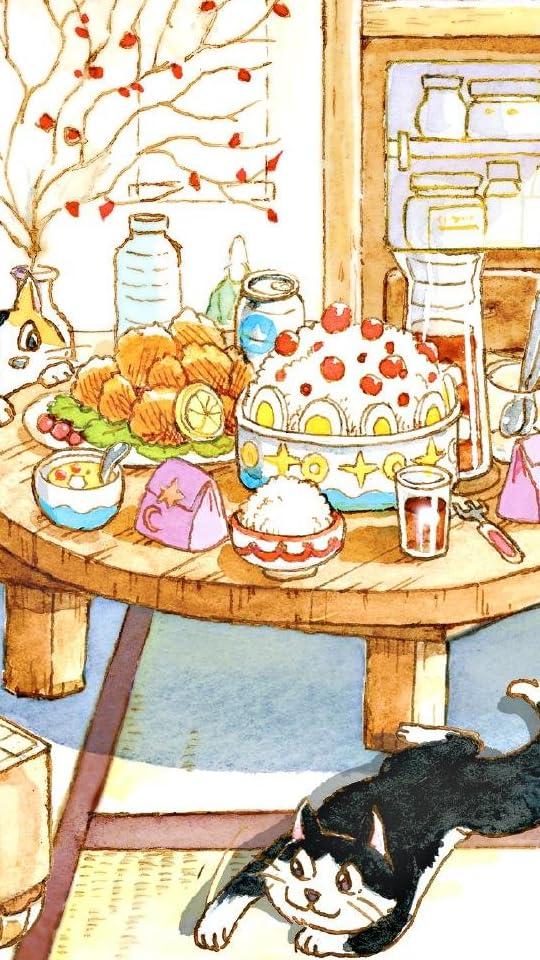 3月のライオン 『ただいまとおかえりの場所』川本家 ミケちゃん クロちゃん QHD(540×960)壁紙 画像63678 スマポ