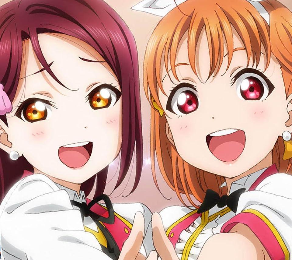 ラブライブ! 『ラブライブ!サンシャイン!!』高海千歌,桜内梨子 Android(960×854)待ち受け 画像64763 スマポ