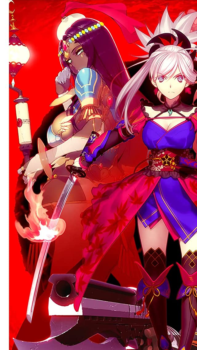Fate Fate/Grand Order <新章> Epic of Remnant iPhoneSE/5s/5c/5(640×1136)壁紙画像