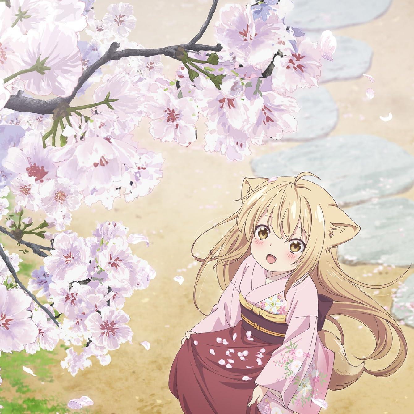このはな綺譚 桜の花びらを集める柚 ゆず Ipad壁紙 画像73467 スマポ