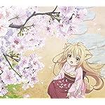 このはな綺譚 Android(960×854)待ち受け 桜の花びらを集める柚(ゆず)