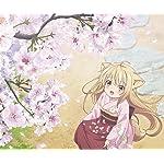 このはな綺譚 Android(960×800)待ち受け 桜の花びらを集める柚(ゆず)