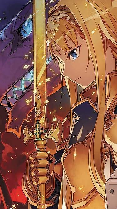 ソードアートオンライン  iPhone/Androidスマホ壁紙(540×960)-1 - アリスと金木犀の剣