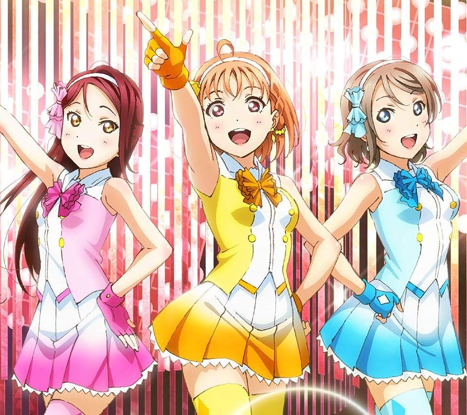 ラブライブ! 高海千歌  、桜内梨子  、渡辺曜  Android(960×854)待ち受け画像