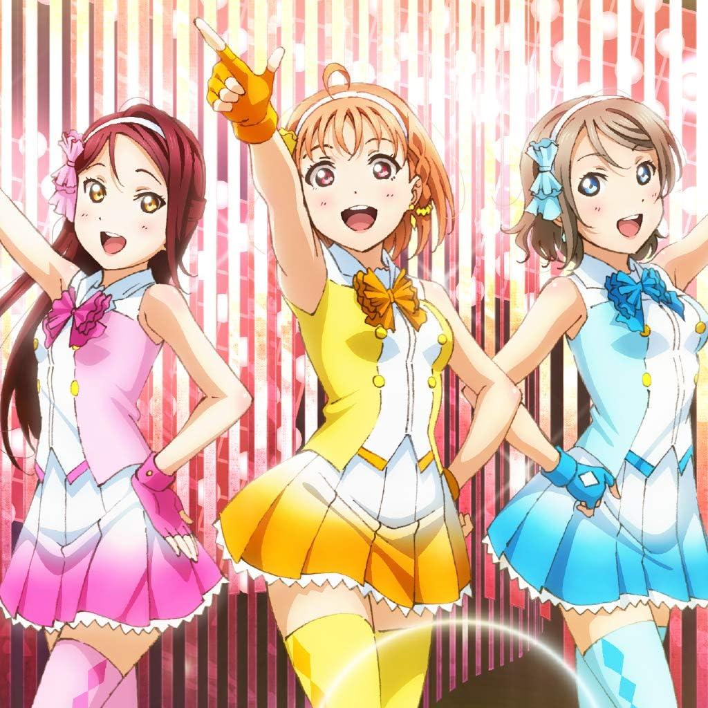 ラブライブ! 高海千歌  、桜内梨子  、渡辺曜  iPad壁紙画像