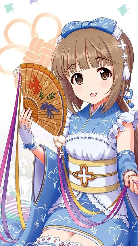 アイドルマスター 依田芳乃 XFVGA(480×854)壁紙画像