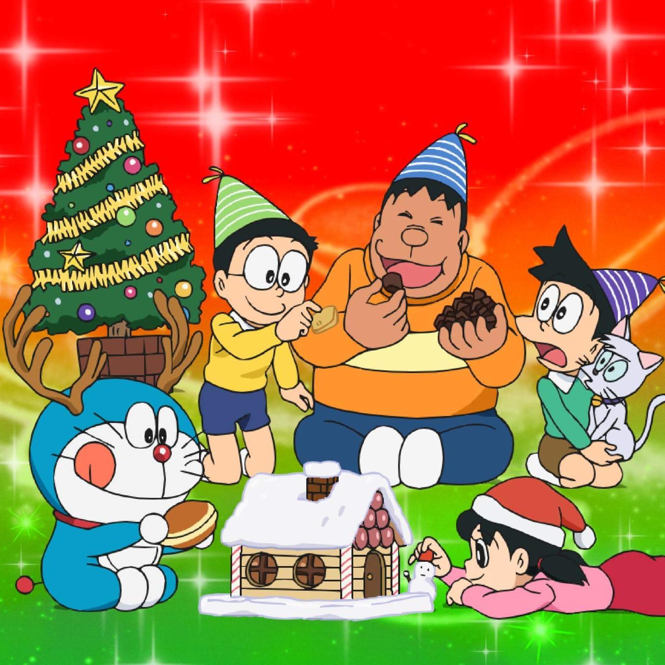 ドラえもん Ipad壁紙 Ding Dong クリスマスの魔法 アニメ スマホ用