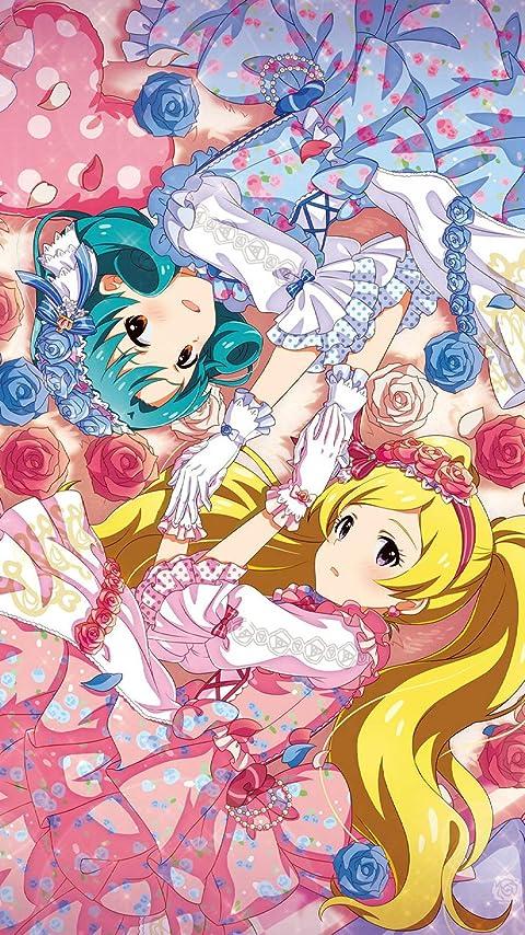 アイドルマスター 徳川まつり 、エミリー スチュアート XFVGA(480×854)壁紙画像