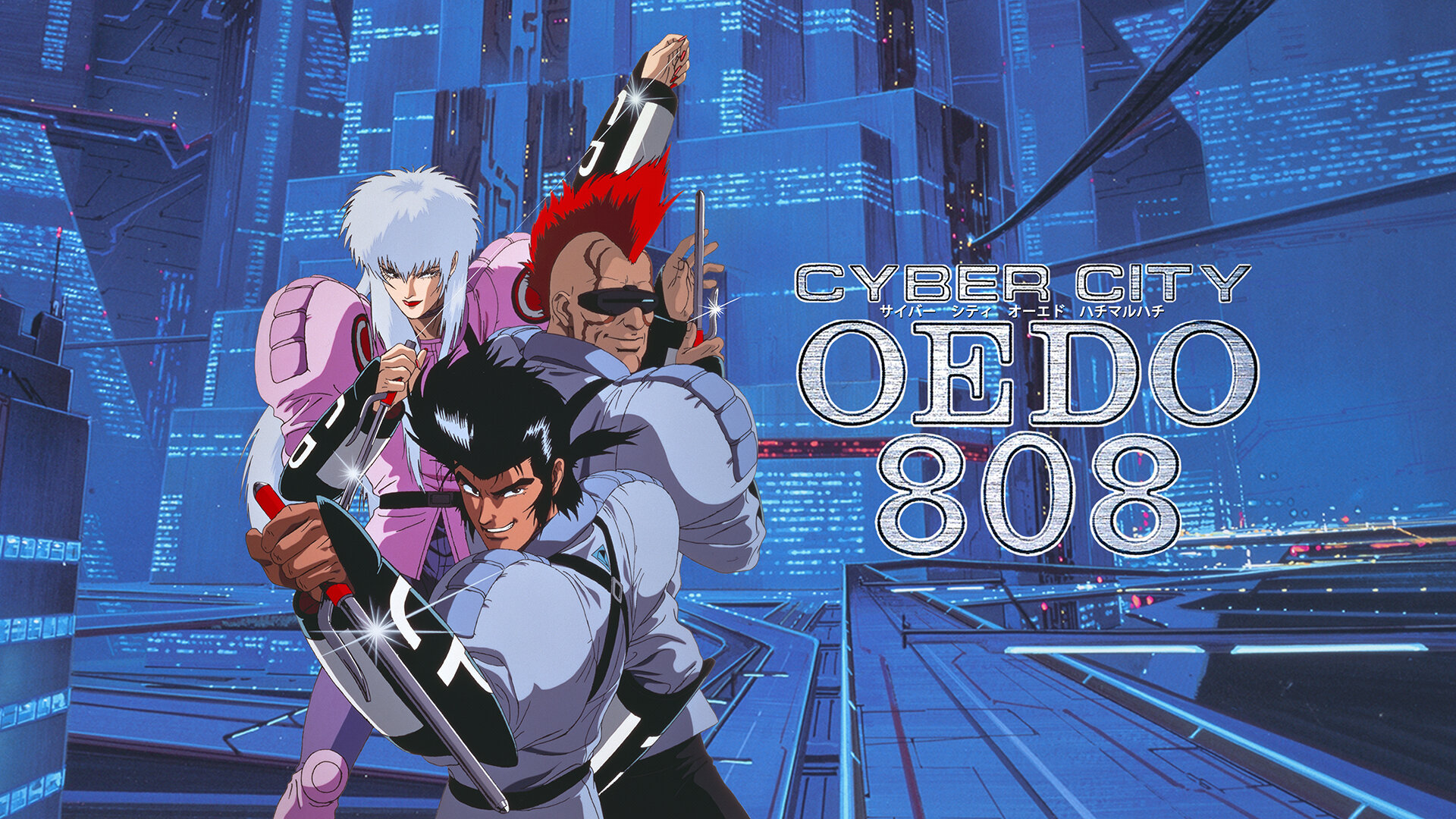 CYBER CITY OEDO 808(dアニメストア)