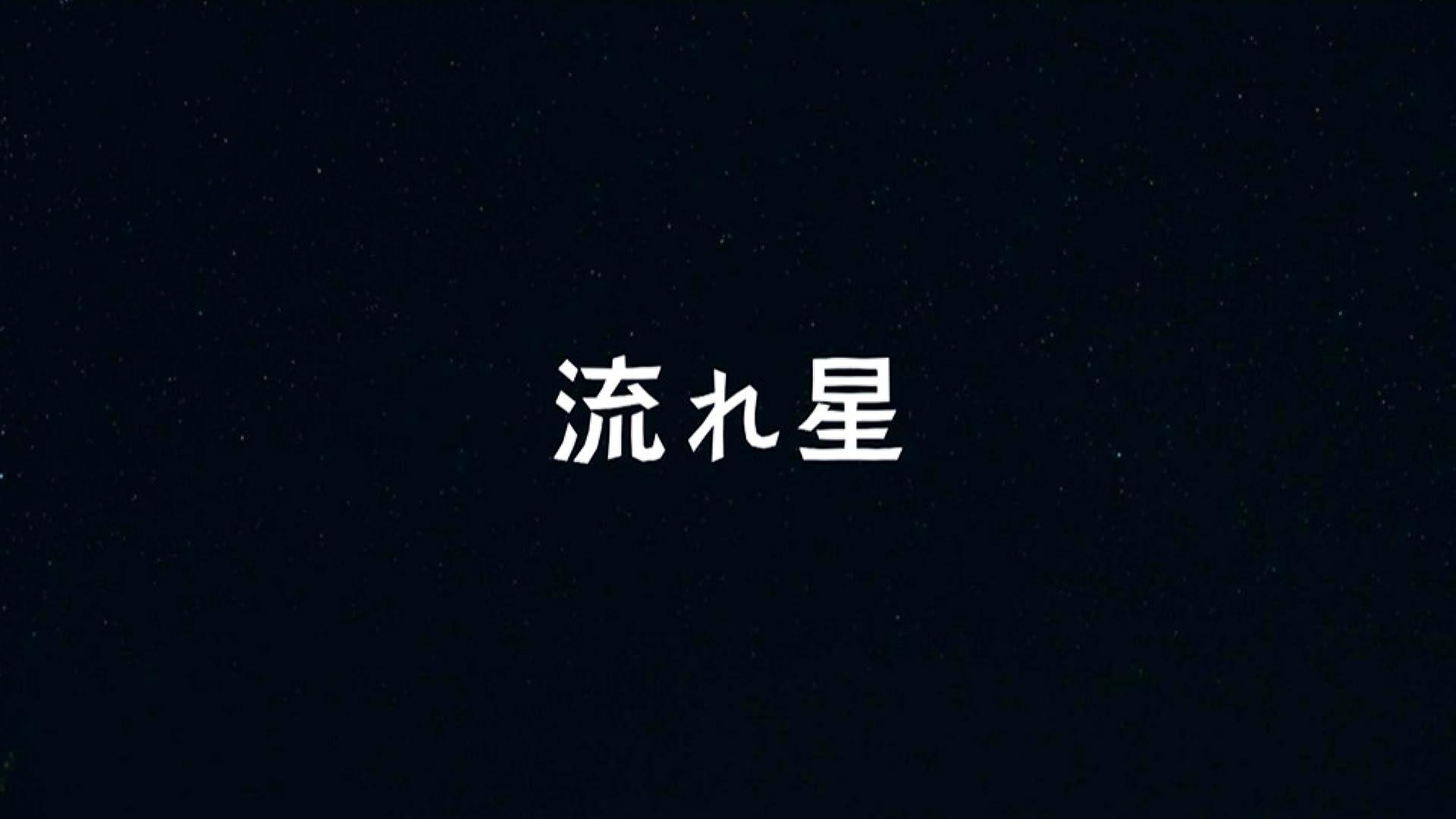 流れ星(NHKオンデマンド)