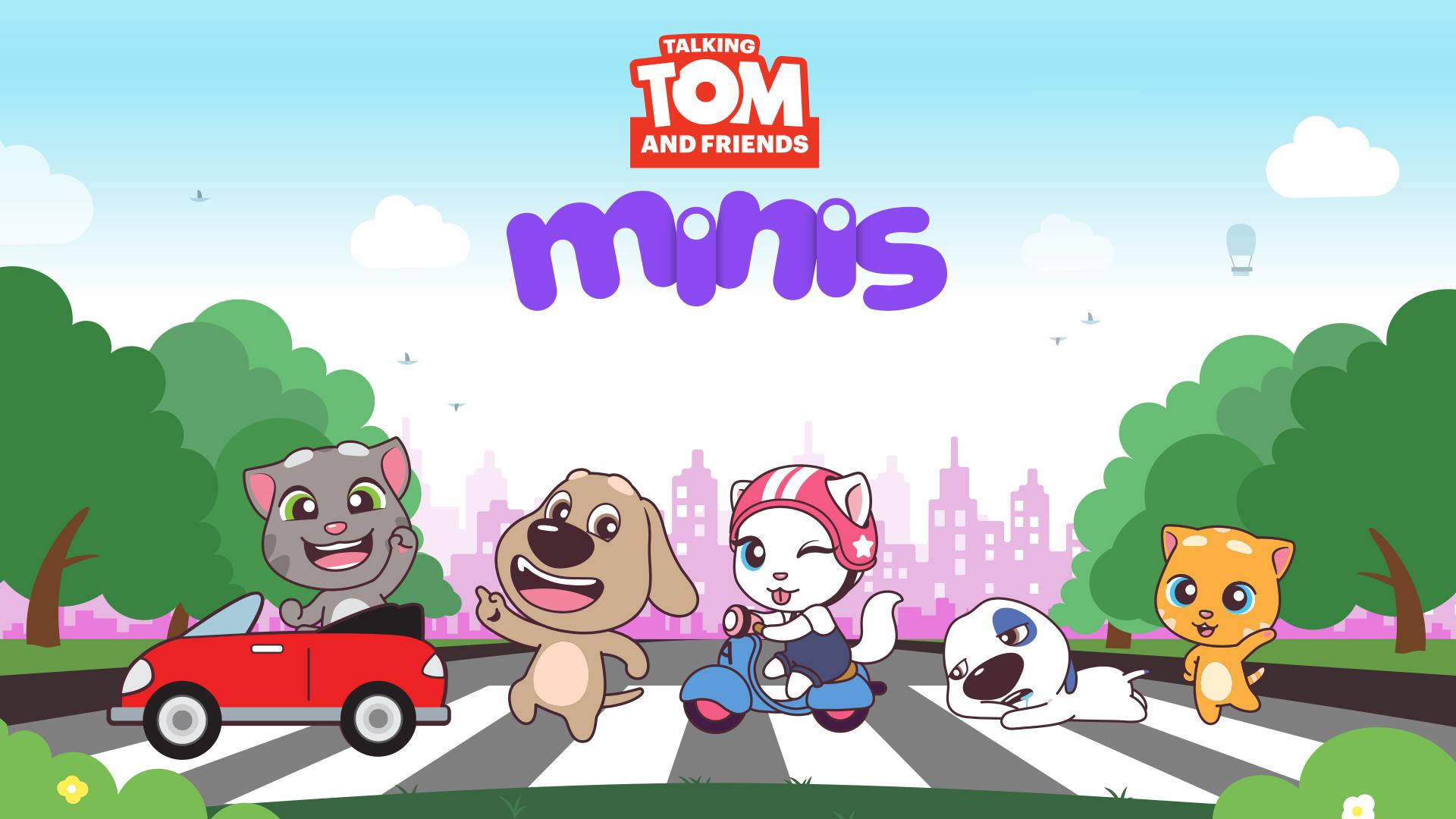 トーキング・トムとフレンズ ミニ Talking Tom and Friends Minis