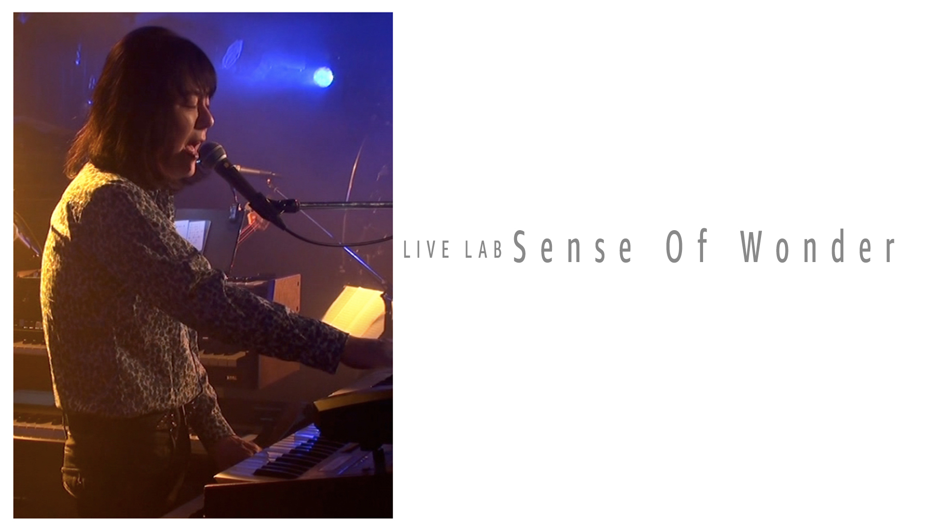 Live Lab. Sense Of Wonder/センス・オブ・ワンダー
