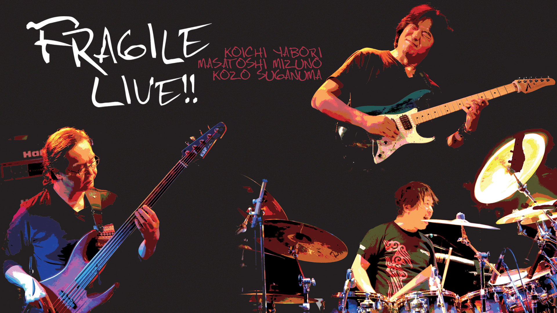 FRAGILE LIVE!feat.矢堀孝一×水野正敏×菅沼孝三