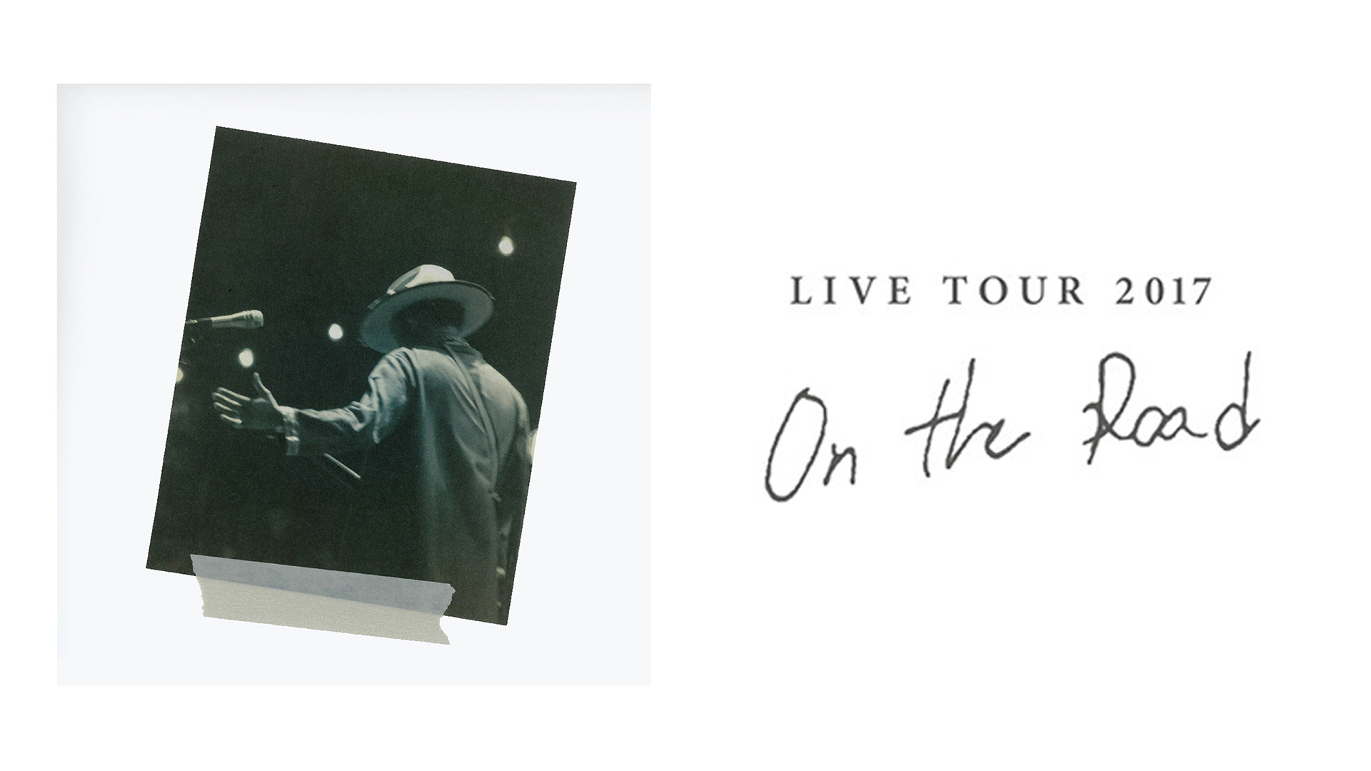 LIVE TOUR 2017 ON THE ROAD