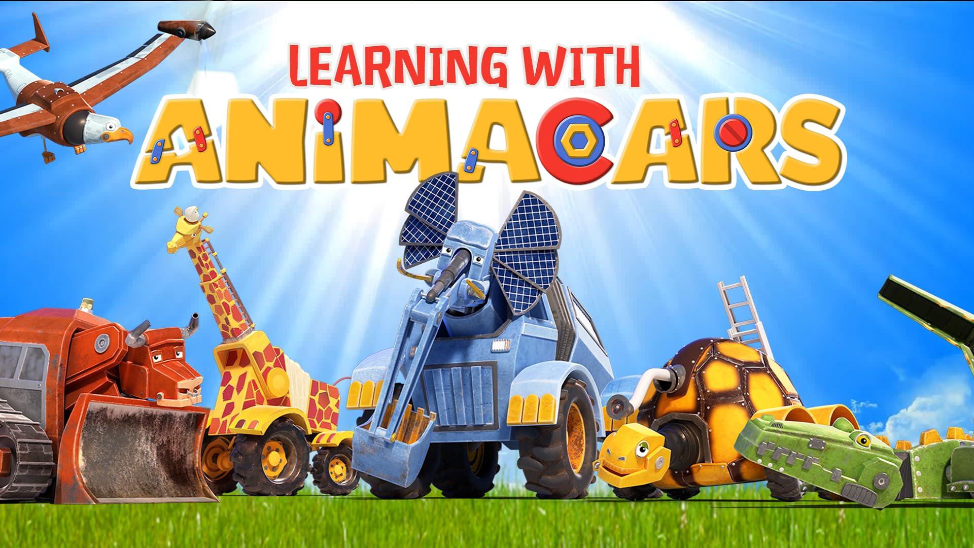 Learning with AnimaCars - アニマカーズと一緒に英語を学ぼう
