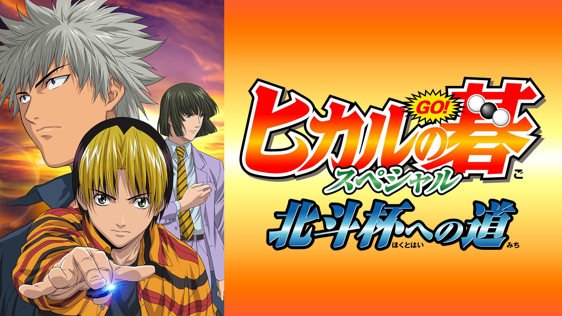 ヒカルの碁スペシャル 北斗杯への道(dアニメストア)